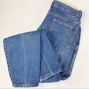 Chic Vintage Mom Jeans High Waist Tapered Leg